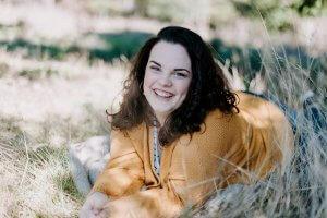 Graduating senior Hannah Reuther